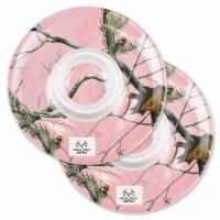 Design Imports CRT10614 Realtree APC Pink Chips & Dip Platter - Set of 2