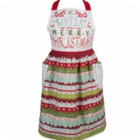 Design Imports Whisk Merry Christmas Skirt Apron
