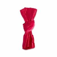 Design Imports CAMZ10874 Red Satin Knot Napkin - Set of 6
