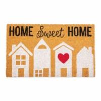 DII Orange Buffalo Check Table Runner - 1