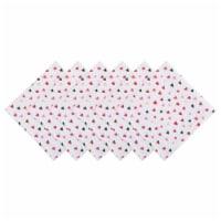 Design Imports CAMZ11145 Confetti Hearts Print Napkin - Set of 6