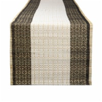 Design Imports CAMZ11182 14 x 72 in. Urban Oasis Reed Table Runner - 1