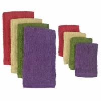 DII Assorted Urban Bar Mop Dishtowel & Dishcloth (Set of 8) - 1