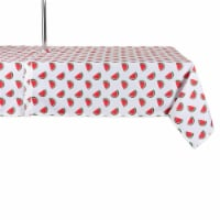 Design Imports CAMZ11302 60 x 84 in. Watermelon Print Outdoor Tablecloth with Zipper - 1