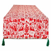 Dii Christmas Woods Embellished Table Runner 14X108 - 1