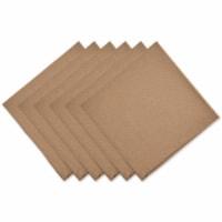 Dii Stone Solid Napkin Set/6 - 1