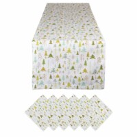 Dii Holiday Woods Printed Table Set - 1