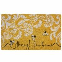 Design Imports CAMZ11541 18 x 30 in. Honey I-M Home Doormat