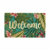 DII Tropical Welcome Doormat - 1
