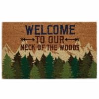 DII Welcome Woods Doormat - 1