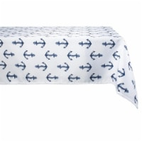 Dii Anchors Print Outdoor Tablecloth 60X84 - 1