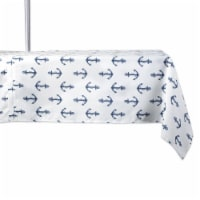 Dii Anchors Print Outdoor Tablecloth With Zipper 60X120 - 1