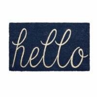 DII Navy Hello Doormat - 1