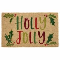 DII Holly Jolly Doormat - 1