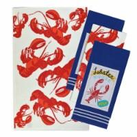 "Dii Fresh Lobster Dishtowel Set, 18X28"", 4 Piece"
