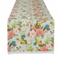 Dii Spring Bouquet Print Table Runner
