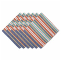 Dii Little Picante Stripe Napkin Set Of 6 - 1