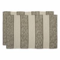 Dii Artichoke Variegated Stripe Recycled Yarn Rug  (Set Of 2)