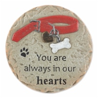 DII You Are Always In Our Hearts - Pet Memorial Stepping Stone - 1