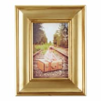 DII 4x6 Antique Gold Rub Farmhouse Picture Frame - 1