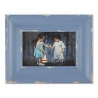 DII 4x6 Distressed Antique Stonewash Blue Farmhouse Picture Frame - 1