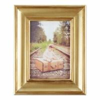 DII 5x7 Antique Gold Rub Farmhouse Picture Frame - 1
