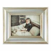 DII 5x7 Antique Silver Rub Farmhouse Picture Frame - 1