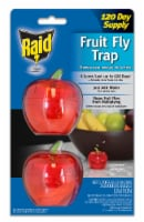 Raid® Apple Fruit Fly Traps - Red