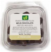 Torn & Glasser Peanut Butter Filled Milk Chocolate Pretzel Nuggets - 13 oz