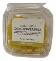 Torn & Glasser Diced Sweetened Pineapple