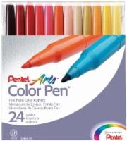 Pentel Arts Fine Point Color Pens - 24 pk