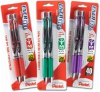 Pentel EnerGel Deluxe Retractable Gel Pen - Assorted - 2 pk