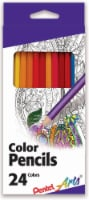 Pentel Arts® Color Pencils - 24 pk