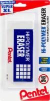 Hi-Polymer Super XL Block Eraser-White - 1