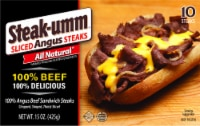 Steak-umm All Natural 100% Beef Angus Sandwich Steaks