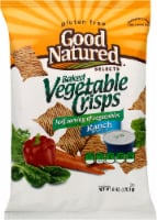 Good Natured Selects Gluten-free Baked Vegetable Crisps - Ranch