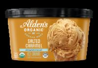 Alden's Organic Salted Caramel Ice Cream