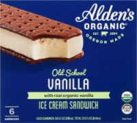 Alden's Organic Old School Vanilla Ice Cream Sandwiches