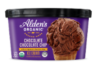 Alden's Organic Chocolate Chocolate Chip Ice Cream