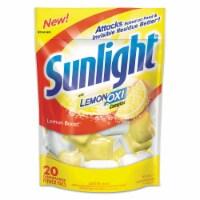 Sunlight Detergent,Dish,Auto,20pk 17117EA - 1