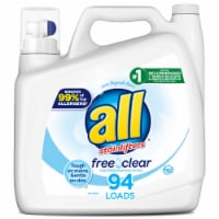 All with Stainlifters Free Clear Liquid Laundry Detergent