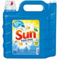 Sun Triple Clean Clean & Fresh Scent Liquid Laundry Detergent - 250 fl oz