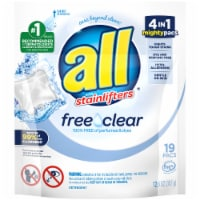 All with Stainlifters Free Clear Laundry Detergent Pacs