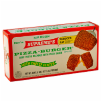 Supreme's Pizza Burgers