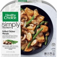 Healthy Choice Simply Steamers Grilled Chicken Marsala - 9.9 oz