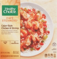 Healthy Choice Cafe Steamers Cajun-Style Chicken & Shrimp Frozen Meal
