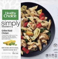 Healthy Choice Simply Steamers Grilled Basil Chicken Frozen Meal