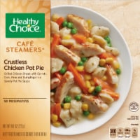 Healthy Choice Cafe Steamers Crustless Chicken Pot Pie Frozen Meal