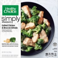 Healthy Choice Simply Steamers Grilled Chicken & Broccoli Alfredo Frozen Meal