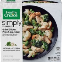 Healthy Choice Simply Steamers Grilled Chicken Pesto & Vegetables Meal